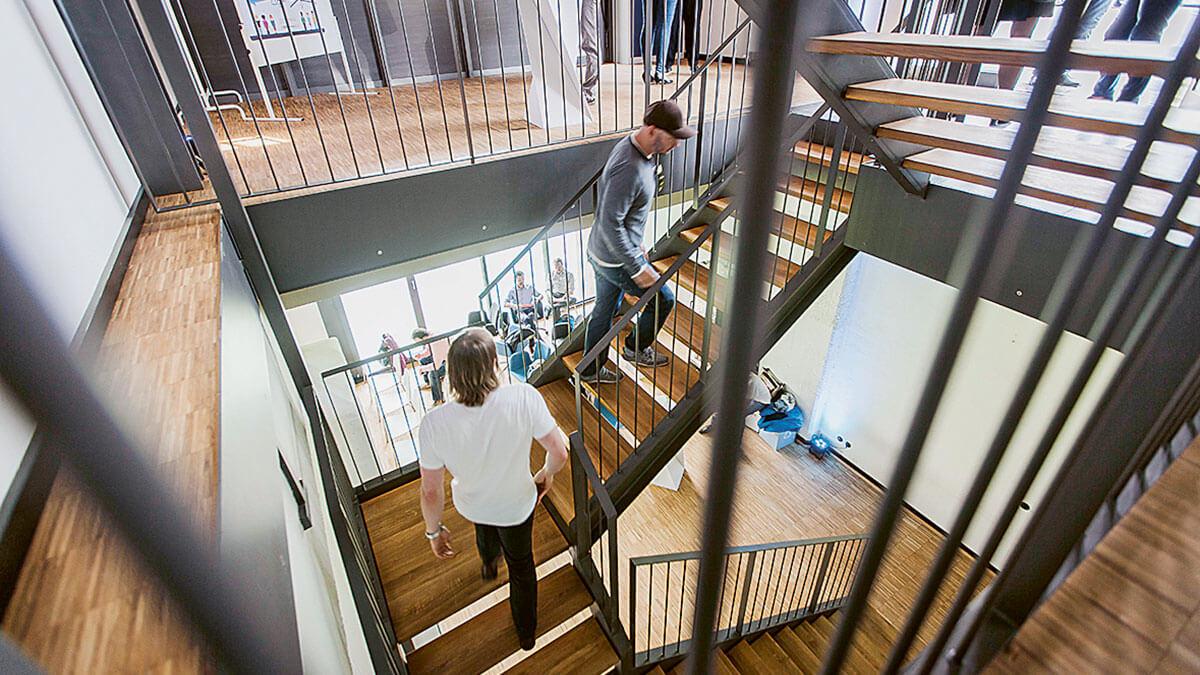 Moderners Büro im Social Impact Lab Leipzig