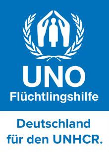 UNO Fluechtlingshilfe Logo
